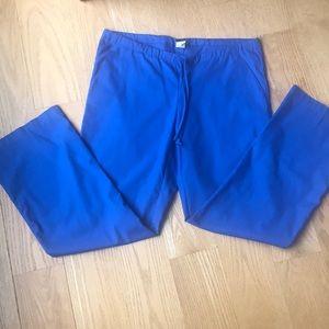 Barco Royal Blue drawstring scrub pants